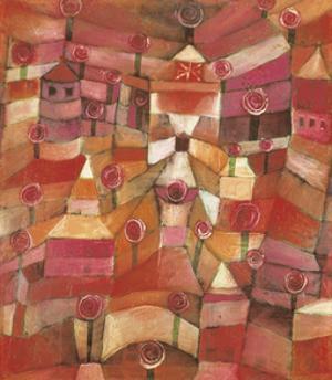 Rose Garden by Paul Klee
