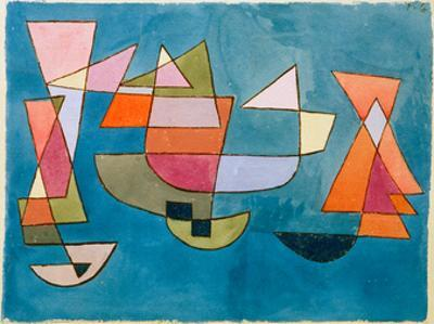 Sailing Boats by Paul Klee