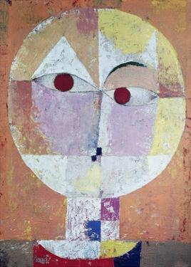 Senecio (detail) by Paul Klee