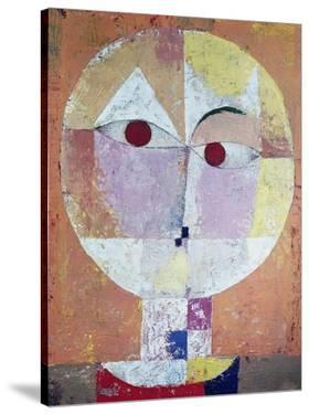 Senecio (detail) by Paul Klee