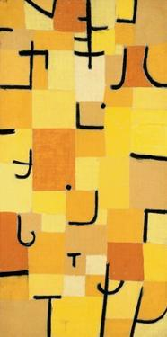 Signs in Yellow by Paul Klee