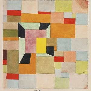 Split Coloured Rectangles by Paul Klee