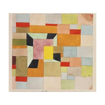 Split Coloured Rectangles