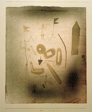 Strange Theatre by Paul Klee