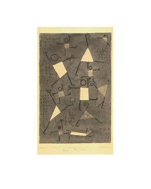 Tanze Vor Angst by Paul Klee