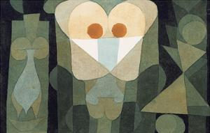 The Physiognomy of a Bloodcell; Physiognomie Einer Blute by Paul Klee