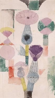 Thistle Bloom by Paul Klee