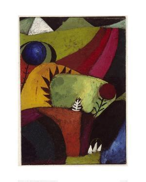 Three White Campanulas, 1920 by Paul Klee