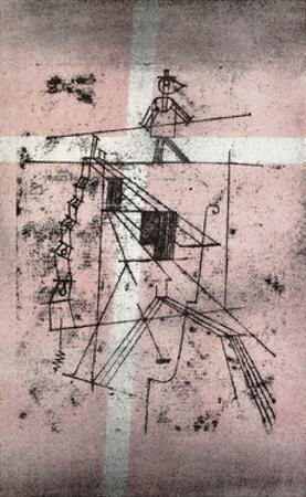 Tightrope Walker by Paul Klee