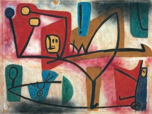 Uebermut (Arrogance) by Paul Klee