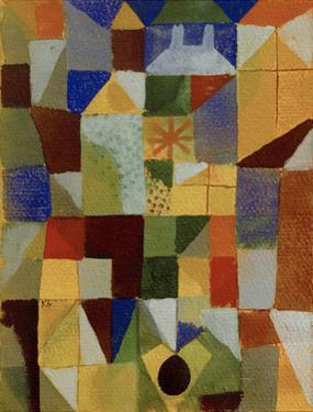 Urban Composition with Yellow Windows by Paul Klee