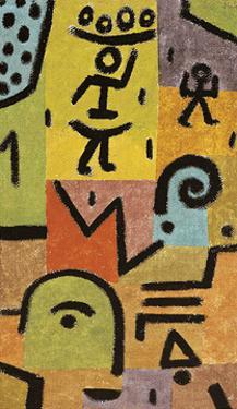Zitronen by Paul Klee