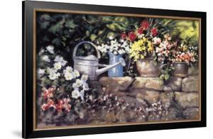 Garden Wall by Paul Landry