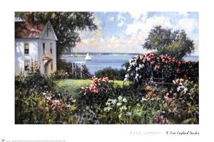 New England Garden by Paul Landry