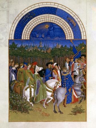 May, 1412-1416 by Paul Limbourg