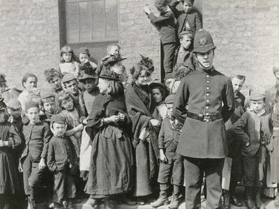 A London policeman's funeral, 1894