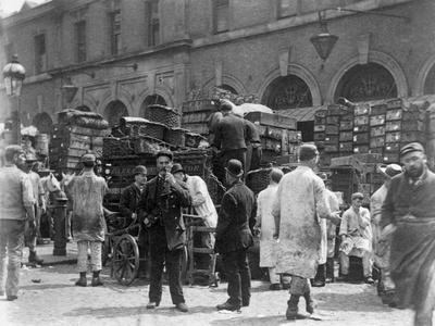 Billingsgate Market, London, 1893