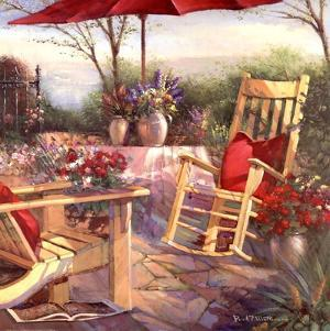 Patio Chaise by Paul Mathenia