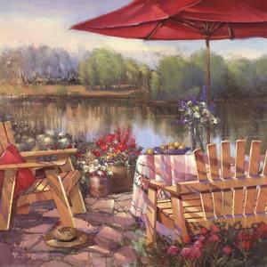Summer Patio by Paul Mathenia