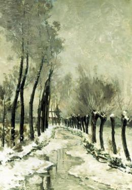 Snowy Vista by Paul Mathieu