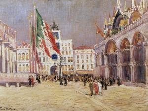 St. Mark's Square, Venice by Paul Mathieu