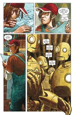 Zombies vs. Robots - Comic Page with Panels by Paul McCaffrey