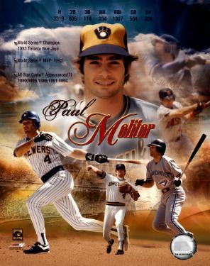 Paul Molitor - Career Legends Composite