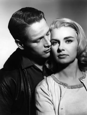 PAUL NEWMAN AND JOANNE WOODWARD in the 50's (b/w photo)
