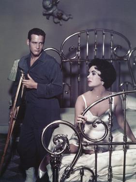 Paul Newman, Elizabeth Taylor, Cat on a Hot Tin Roof, 1958