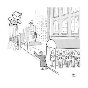 Hello Kitty Thanksgiving Float - Cartoon by Paul Noth