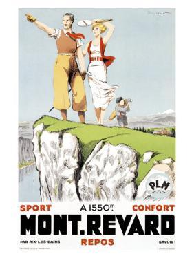 Mont Revard, Tennis and Golf by Paul Ordner