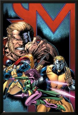 Exiles No.69 Cover: Sabretooth, Blink, Mimic, Morph and Exiles by Paul Pelletier