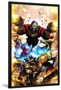 Guardians Of The Galaxy No.1 Cover: Star-Lord, Drax The Destroyer and Rocket Raccoon by Paul Pelletier