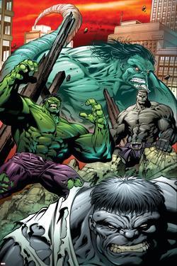 Hulk: Broken Worlds No.2 Cover: Hulk by Paul Pelletier