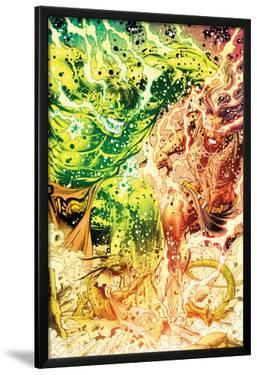 Incredible Hulks No.635: Hulk and Red She-Hulk Screaming and Transforming by Paul Pelletier