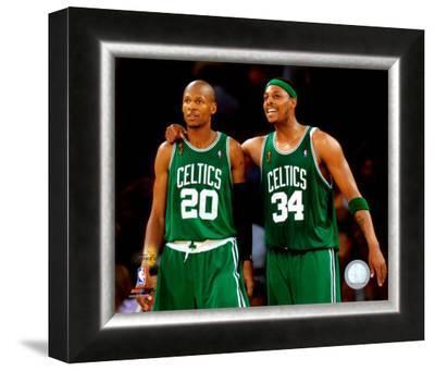 Paul Pierce & Ray Allen Game 4 of the 2008 NBA Finals
