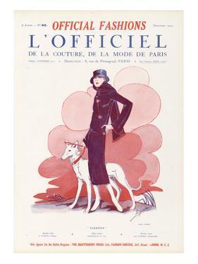L'Officiel, December 1924 - Sleeping by Paul Poiret