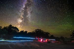 Camping under The Milky Way, as seen at the Torrance Barrens Dark Sky Reserve, two hours drive from by Paul Porter
