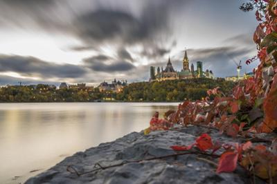 Parliament Hill in the fall, Ottawa, Ontario, Canada, North America by Paul Porter
