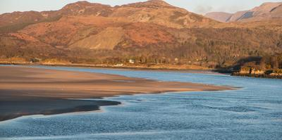 Mawddach River and Estuary of Barmouth Bay by Paul Quayle