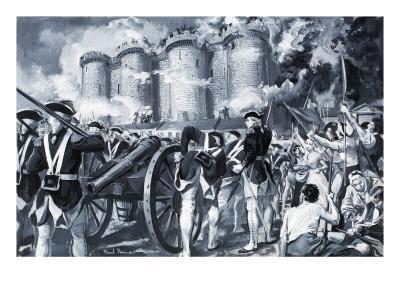 The Fall of the Bastille in 1789