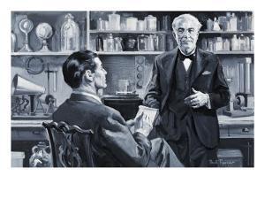 Thomas Alva Edison by Paul Rainer
