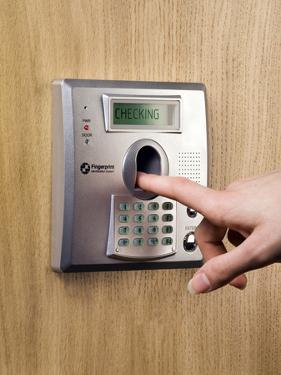 Fingerprint Scanner by Paul Rapson
