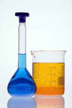 Laboratory Glassware by Paul Rapson