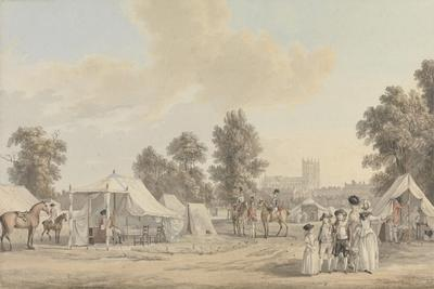 An Encampment in St. James's Park