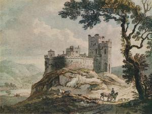 'An Old Castle', c1764 by Paul Sandby