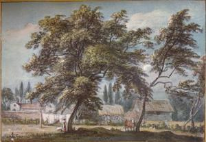 At Englefield Green, c18th century, (1924) by Paul Sandby