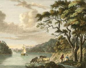 Dromana on the River Blackwater by Paul Sandby