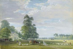 Englefield Green, Near Egham by Paul Sandby