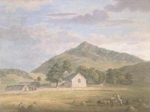 Haymaking at Dolwyddelan Below Moel Siabod, North Wales, C.1776-86 by Paul Sandby